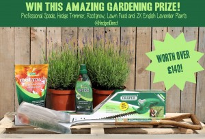 Win over £140 worth of gardening goodies!