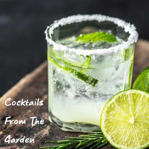 Cocktails from the garden