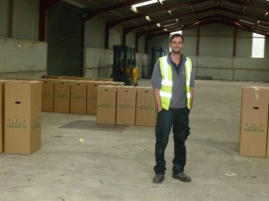 Despatch building internal view with Rick